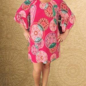 Dresses & Skirts - 3x lightweight pink medallion dress